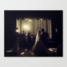 Jewish Wedding Canvas Print