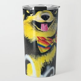 Pomeranian Pop Travel Mug