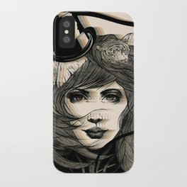 I'm Running Away to the Circus iPhone Case