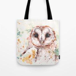 Australian Barn Owl Tote Bag