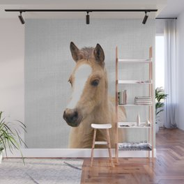 Baby Horse - Colorful Wall Mural