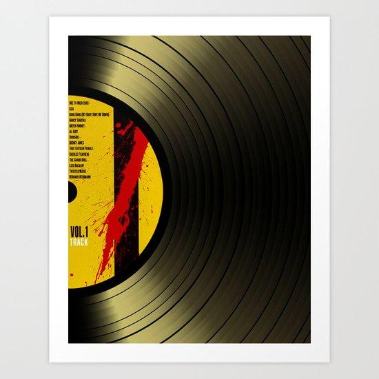 Vinil Movies 1 Art Print