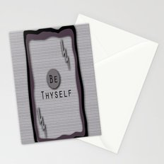Be Thyself Stationery Cards