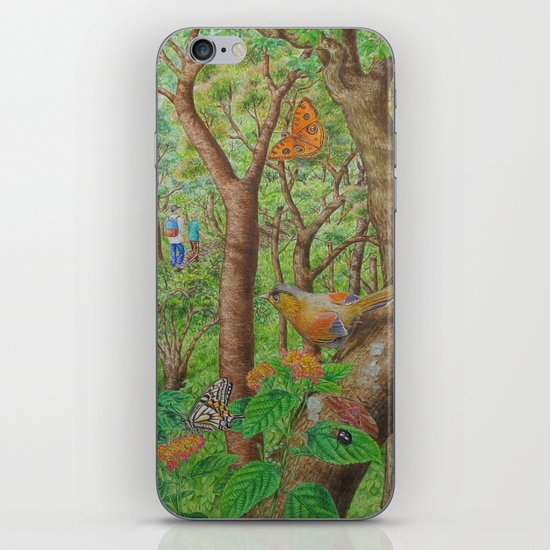 A Day of Forest (1). (walk into the forest) iPhone & iPod Skin
