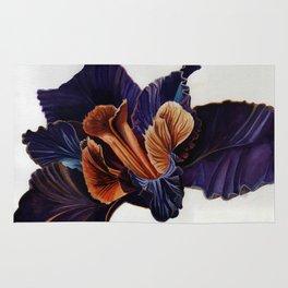 Black Iris Rug