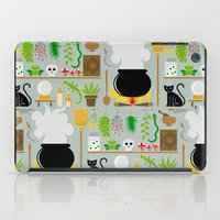 lab iPad Cases featuring Witch's lab by Ana Linea