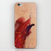 hero iPhone & iPod Skins featuring Hero by Josè Sala