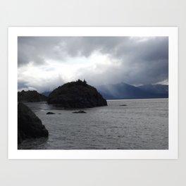 Beluga Bay, Alaska Art Print