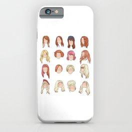 hayley in music videos iPhone Case