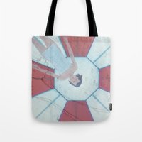 resident evil Tote Bags featuring Resident Evil - Generations of Alice by Robin Stevens