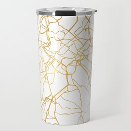 ROME ITALY CITY STREET MAP ART Travel Mug