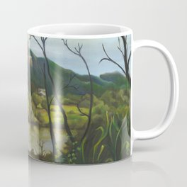 Mount Stuart oil painting Coffee Mug