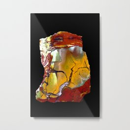 Fancy Jasper Metal Print