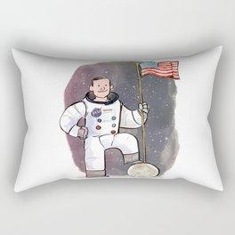 Neil Armstrong Rectangular Pillow