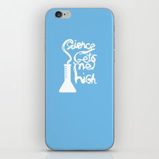Science Gets Me High iPhone & iPod Skin
