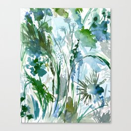 marelle: watercolor floral Canvas Print