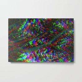 Tri-Chrome Separation  Metal Print