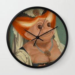 The Ugly Dutchess Wall Clock