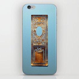 Paris Door No.000 iPhone Skin