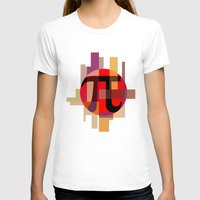 pi T-shirts featuring Geometric Pi  by Vi Sion