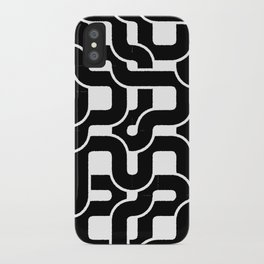 Orion (Black on white) iPhone Case
