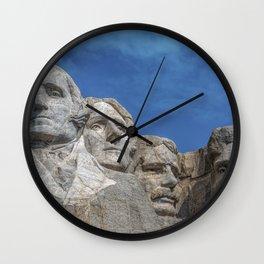 Mount Rushmore, Keystone, South Dakota, United States. Wall Clock