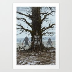 Brother Zygfryd and the Last Crusade Art Print