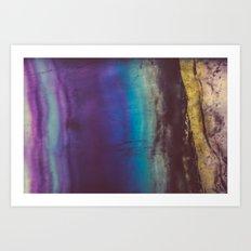 Bohemian Blue Earth  Art Print
