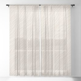 Cavern Clay SW 7701 Thin Pinstripe Angled Lines on Creamy Off White SW7012 Sheer Curtain