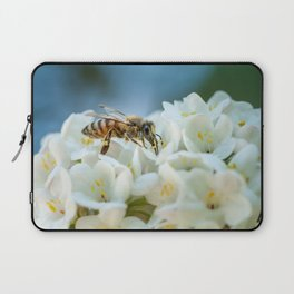Bee In Garden Laptop Sleeve