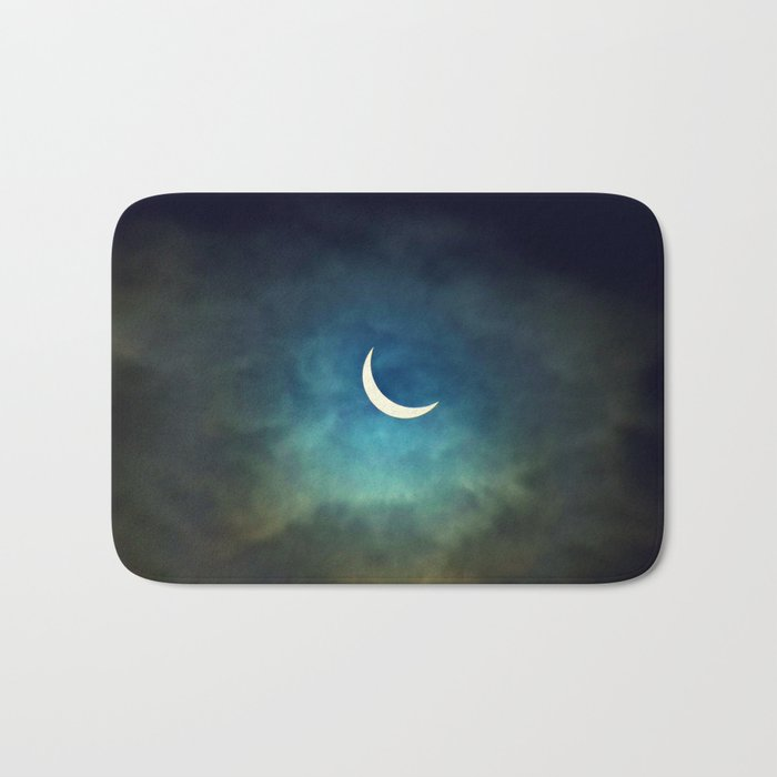 Solar Eclipse 1 Bath Mat