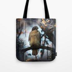 A Hawks Dream Tote Bag