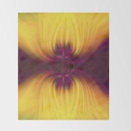 Tulips Twirled Throw Blanket