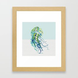 J is for Jellyfish Framed Art Print
