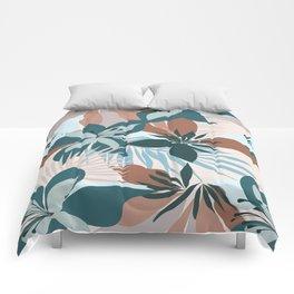 Tropical Bouquet Comforters