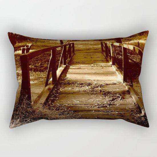 Old Bush Bridge Rectangular Pillow