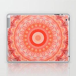 Mandala soft orange 3 Laptop & iPad Skin
