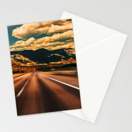 Out on the Open Road—American West Style Stationery Cards