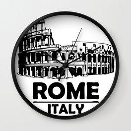 rome-italy Wall Clock