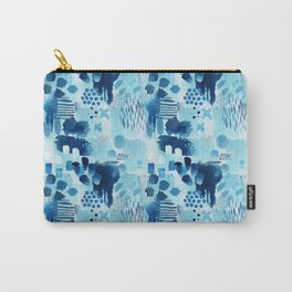 Study in blue, watercolor Carry-All Pouch
