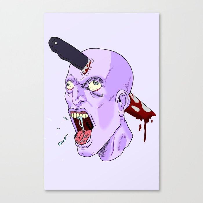 Head Stab Canvas Print