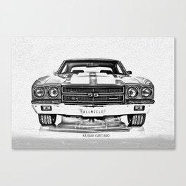 1970 Chevelle Canvas Print