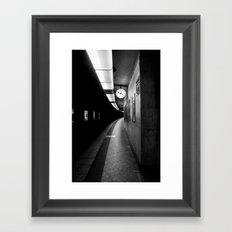 Brussels Station Framed Art Print