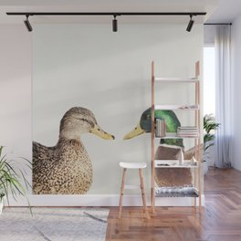 Two Ducks Wall Mural