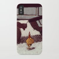 chicken iPhone & iPod Cases featuring Chicken by Javio