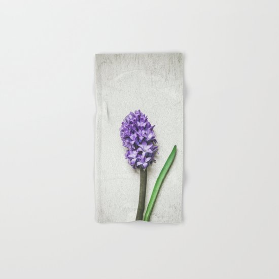 Lilac Hyacinth Hand & Bath Towel