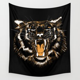 Roar Tiger Wall Tapestry