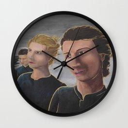 The Nuns of Shamordino Wall Clock