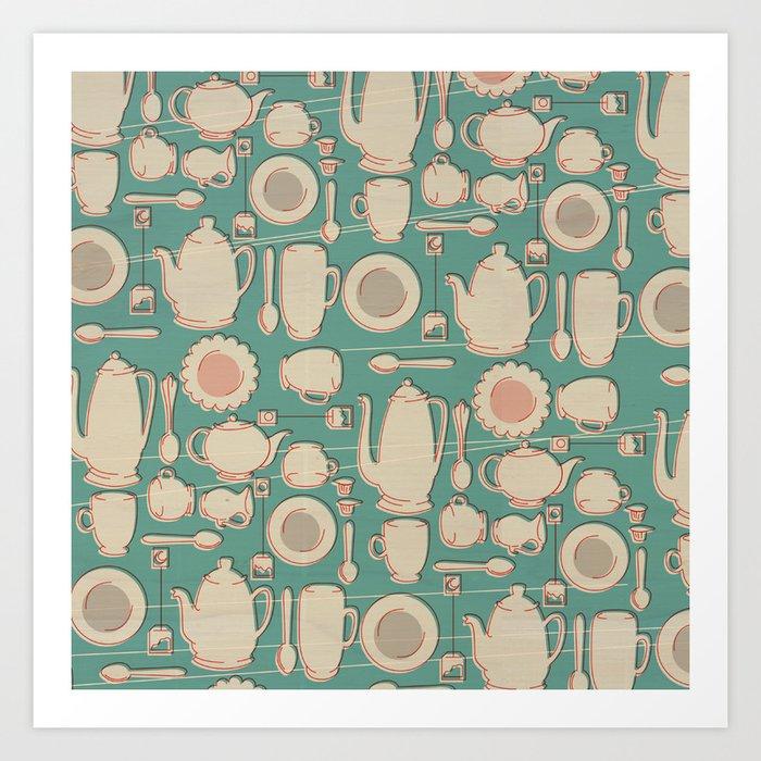 Tea Time! Art Print