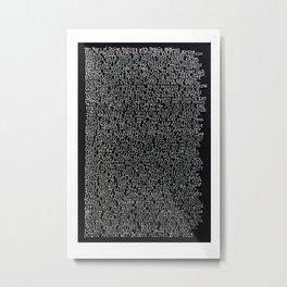 Design Matters 10th Anniversary Artwork Metal Print
